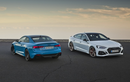 AUDI RS5 COUPE AND SPORTBACK NOW IN A NEW FORMAT