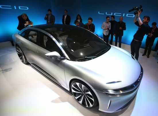LUCID AIR IS A DIRECT COMPETITOR TO TESLA!