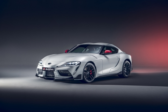 TOYOTA SUPRA WITH TWO-LITER ENGINE