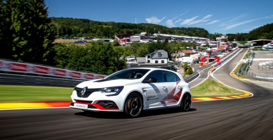 The NEW RENAULT MEGANE R. S TROPHY-R SET a NEW RECORD AT SPA-FRANCORCHAMPS