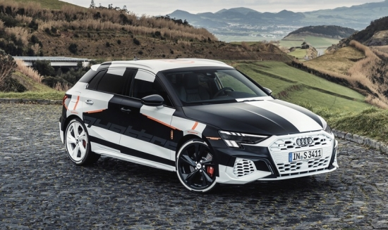 AUDI A3 SPORTBACK-FIRST details AND photos of the CAMOUFLAGED
