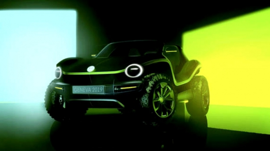 WORLD PREMIERE OF THE ELECTRIC ID. BUGGY